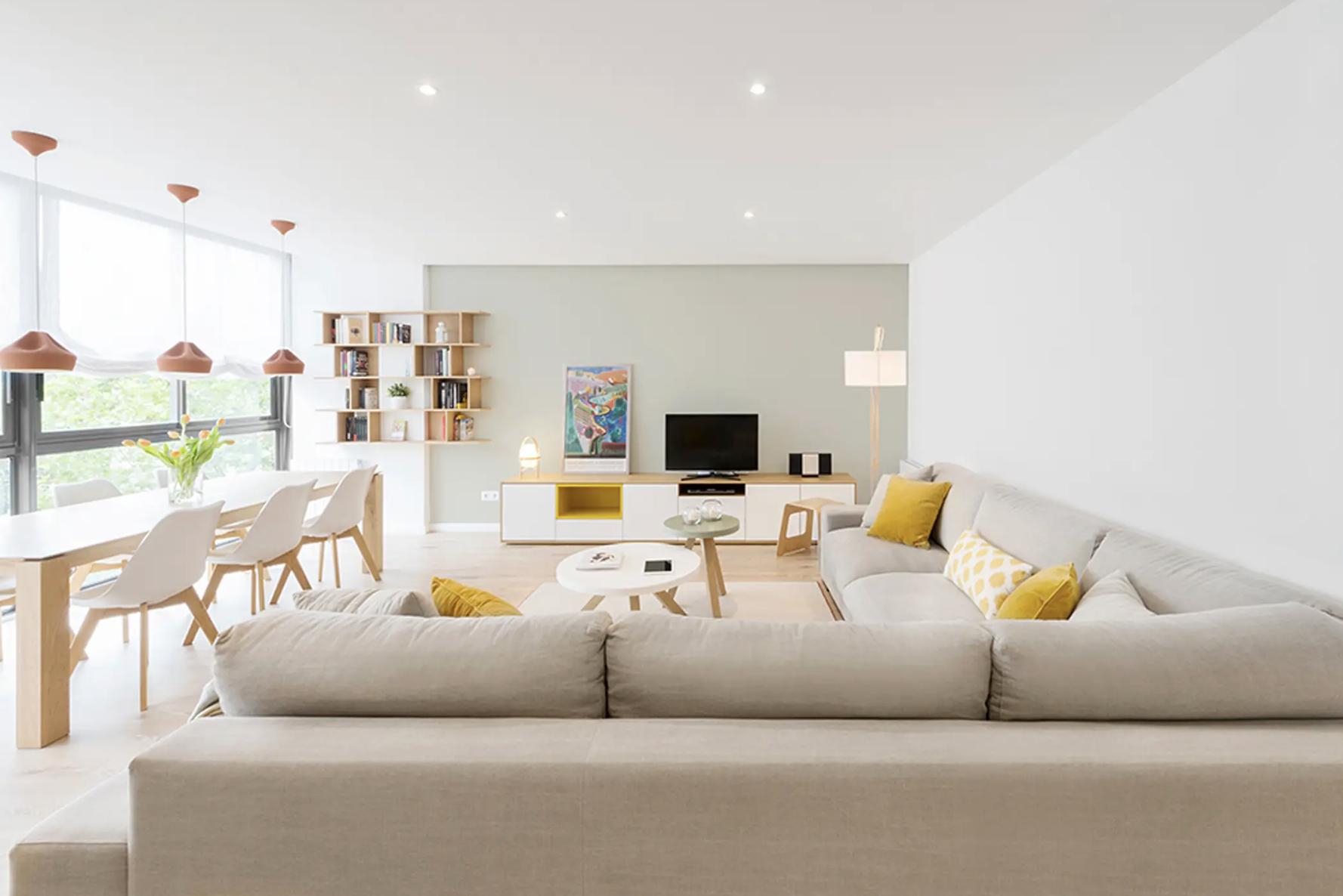 5 Formas de ubicar los muebles en el living y ganar un montón de espacio